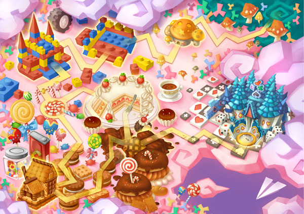 Escape From Candy Land---New Version Detailed on