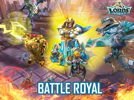 Lords Mobile: Introducing Battle Royal!