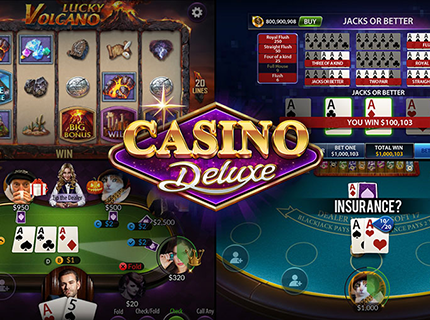 The Doors Are Open to Casino Deluxe!