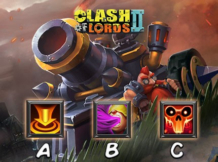 Clash of Lords 2 - Which is Ironclad's skill?