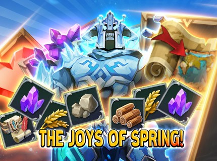 Lords Mobile - The Joy of Spring