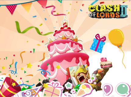 Clash of Lords 2 - Birthday Giveaway
