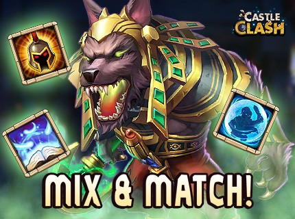 Castle Clash - New Hero Anubis