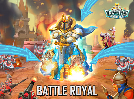 Lords Mobile - Battle Royal