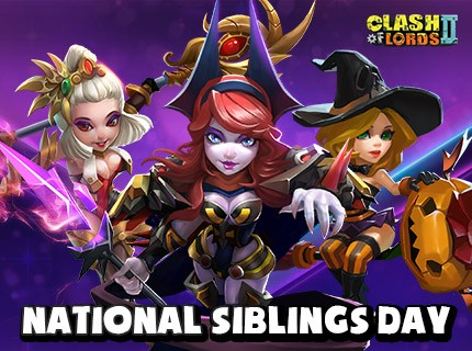 It's National Siblings Day today!