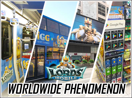 Lords Mobile: Worldwide Phenomenon
