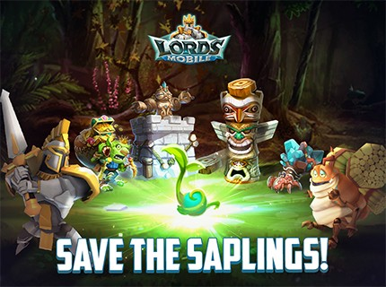 Lords Mobile - Save the Saplings!