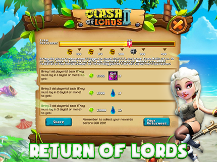 Have you joined Return of Lords?