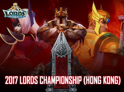 Watch the Lords Championship (Hong Kong) on 20 Aug!