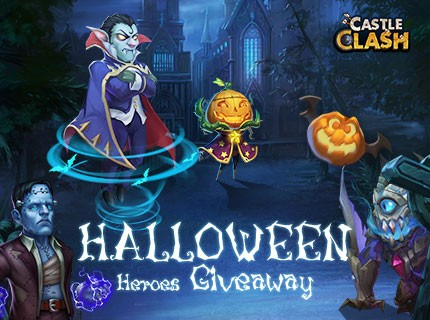 Castle Clash Halloween Heroes