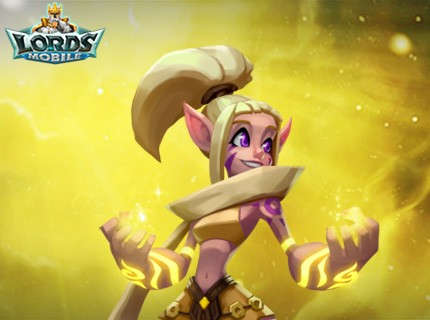 Lords Mobile New Hero - Elora the Lightweaver