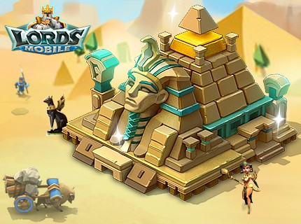 Lords Mobile: Unravel the secrets of the pyramid!
