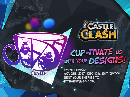 Castle Clash Design-a-Mug Contest!
