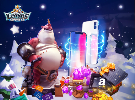 Lords Mobile - Merry Madness! Lucky Gifts!