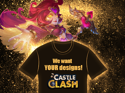Castle Clash T-Shirt Design Contest