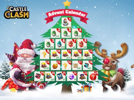Castle Clash-Advent Calendar