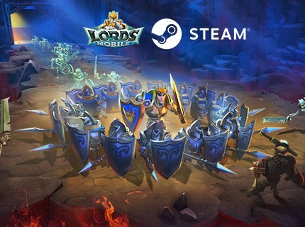 Lords Mobile  is coming to the STEAM store!