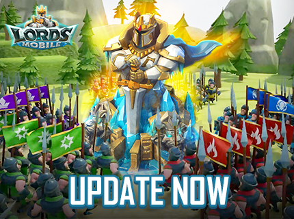 Lords Mobile Update on Nov.18
