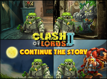Clash of Lords 2 - Continue the story