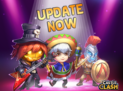 Castle Clash - Android Update