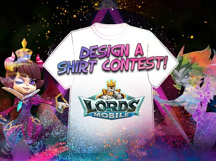 Lords Mobile T-shirt Design Contest!