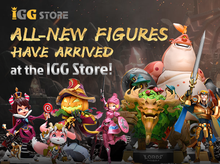 IGG Store--- All-New Figures on Sale Now!