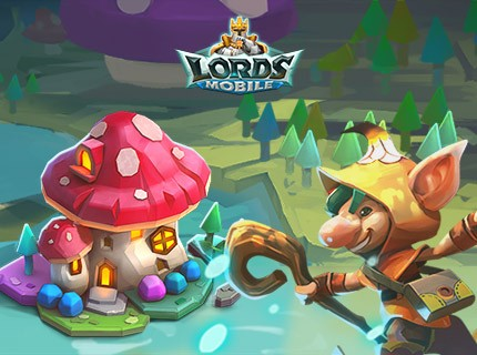 Lords Mobile New Castle Skin: Faerie Toadstool has been released!